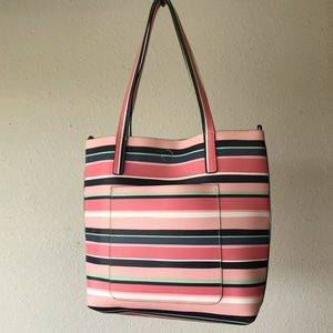 Handbags - Colorful Striped Large Tote